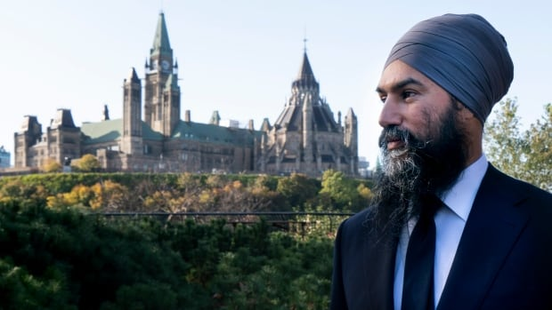 NDP Leader Jagmeet Singh begins to lay out minority scenario conditions  | CBC News