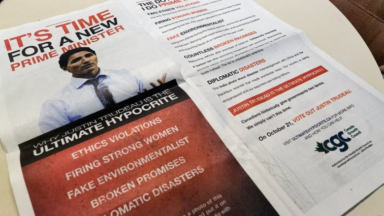 Regina-based group behind anti-Trudeau ad campaign in national newspapers