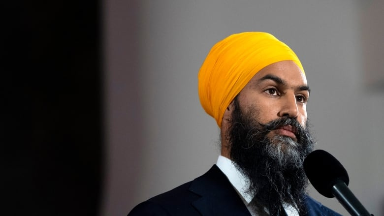 Singh doesn't rule out supporting a pipeline-owning Liberal minority government