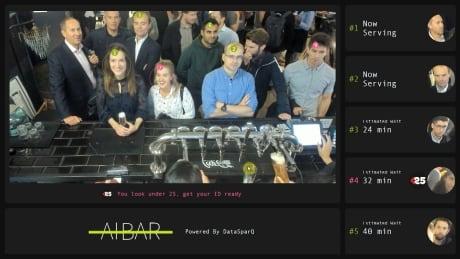 AI Bar monitor