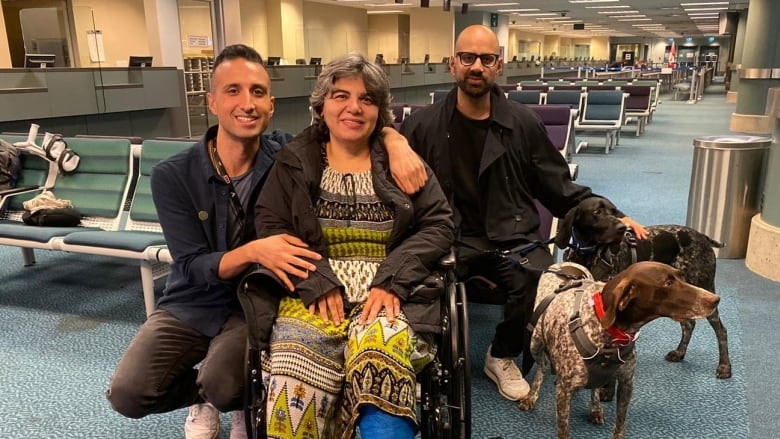 After 582 days, woman detained in Iran after husband's death reunites with sons in Vancouver