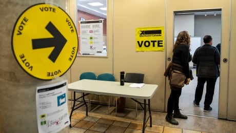 Advance polling station in Toronto