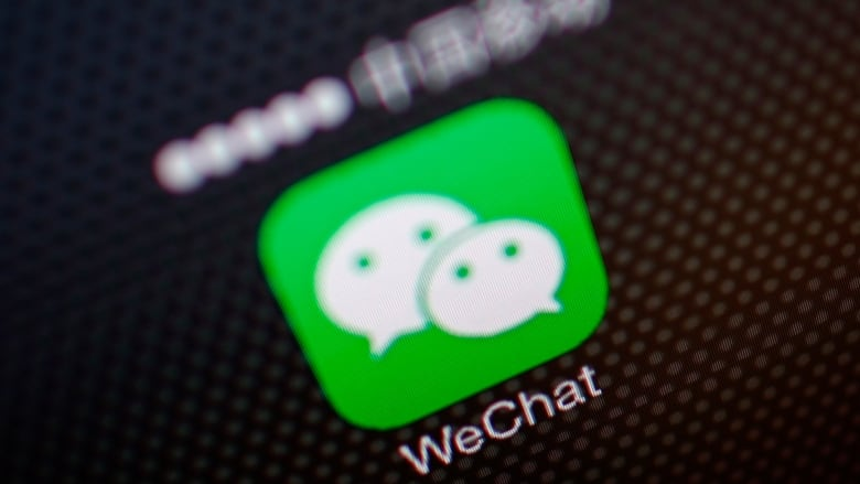 Election ads on WeChat posted by users: company