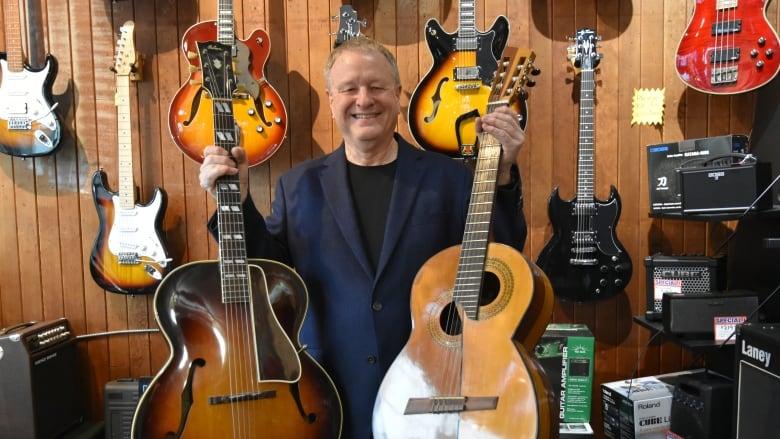 Creativity, community spirit are keys to Neil Douglas Guitar Shop's longevity