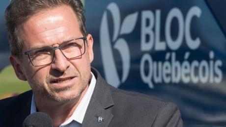 Bloc Leader Yves-Francois Blanchet