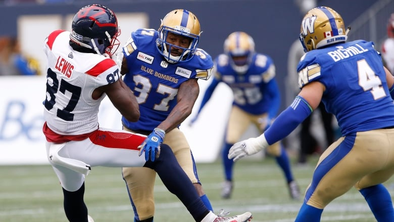 Bombers get revenge in win over Alouettes