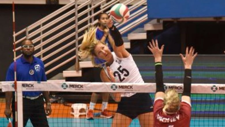 Canada to play for bronze after semifinal loss to U.S. at NORCECA volleyball event