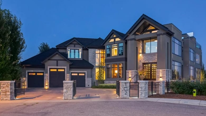 This $11M home is one of Calgary's priciest — and it's up for auction with no reserve