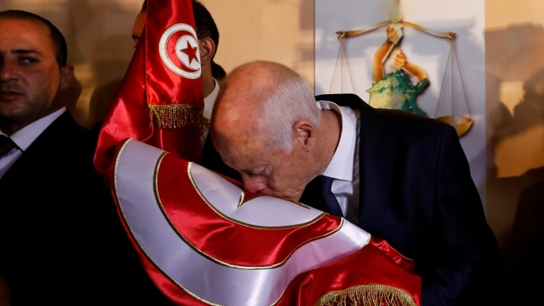 'A new page in history is turning': Polls suggest political outsider Saied winner in Tunisia election