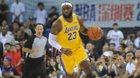 LeBron James says Rockets GM 'wasn't educated' on China tweet