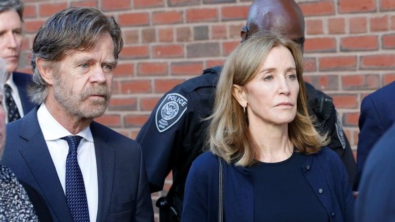 Felicity Huffman begins serving 14-day prison sentence