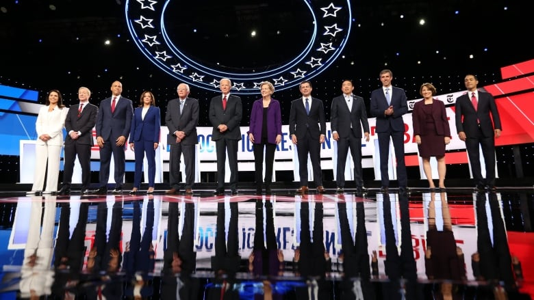 U.S. Democrats face tough questions in fourth round of debates