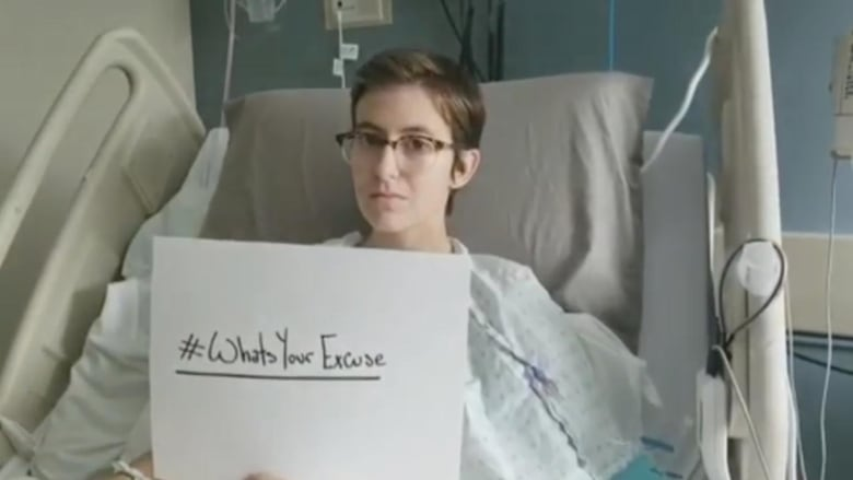 18-year-old Winnipeg woman with terminal cancer casts 1st vote, urges others to do the same
