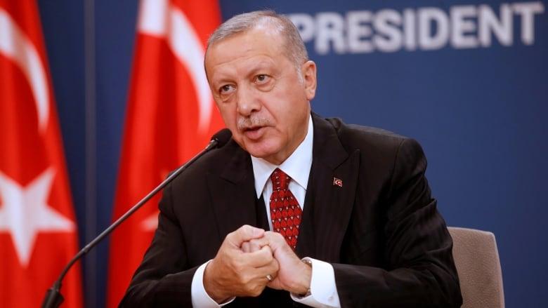 Turkey's Erdogan re-evaluating upcoming U.S. visit amid invasion of Syria