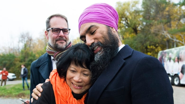 Facing a possible wipeout in Quebec, Singh evokes Jack Layton's legacy