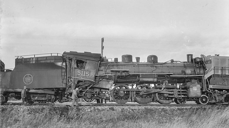 Alberta woman unearths pieces of railway history in her backyard