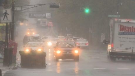 Fall storm Nova Scotia