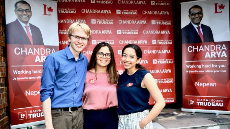 Young Canadians are getting out the vote - even if they can't cast a ballot themselves