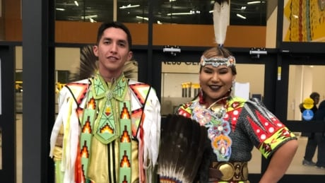 Steven Crowchild and Cherokee Eagletail