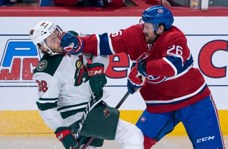 Wild Blanked By Habs Thursday