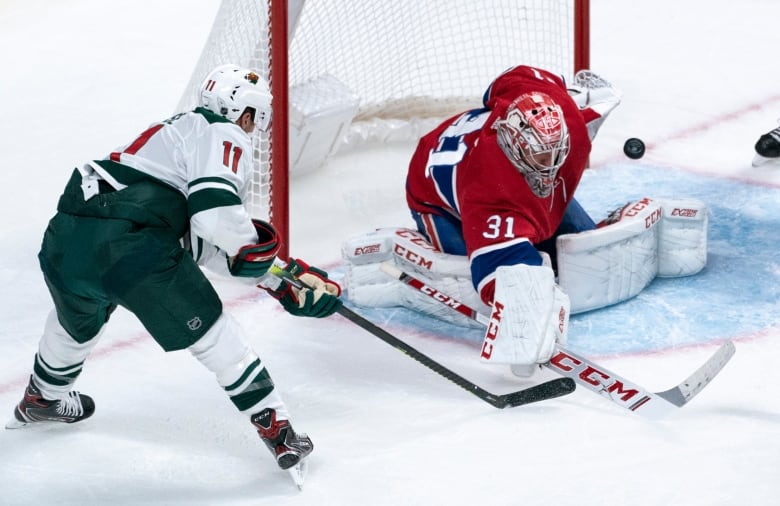 Canadiens shut out Wild 4-0