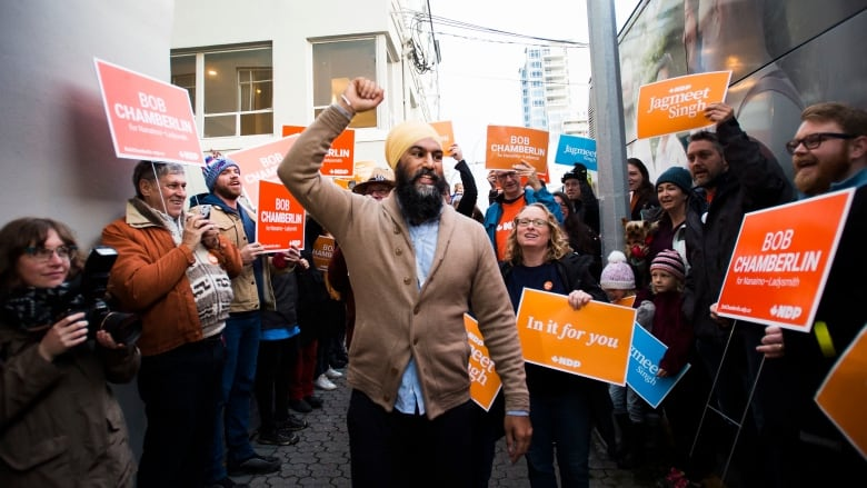 NDP sees surge of support from B.C. voters in election's final days, poll finds