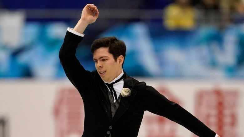 Keegan Messing provides riveting tribute to late younger brother at Skate America
