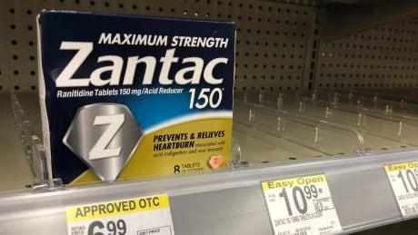 Heartburn drug Zantac recalled in Canada, U.S. over contamination fears
