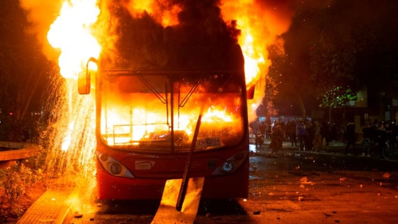 Chile's president declares emergency as capital rocked by riots