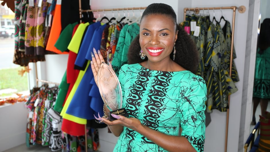 Modern Eclectic Chic Toronto Fashion Designer Marries High Fashion With African Heritage Cbc News