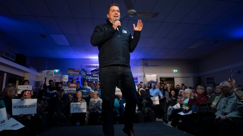 Inside 48 hours and a momentum shift on the Conservative campaign