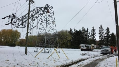 Hydro workers Manitoba
