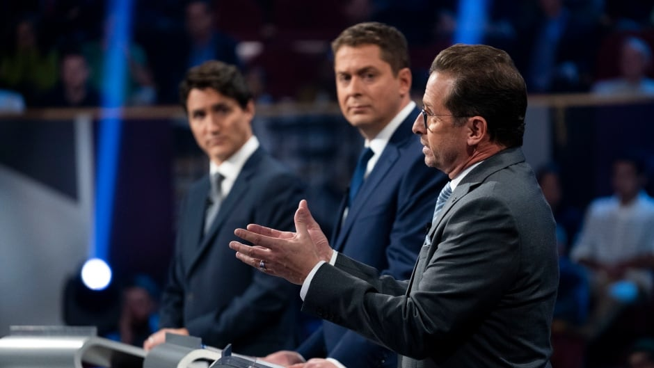 cbc.ca - John Paul Tasker - Scheer, Trudeau warn voting Bloc will lead to another Quebec independence referendum