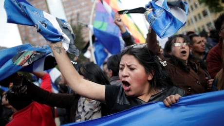 BOLIVIA-ELECTION/PROTEST