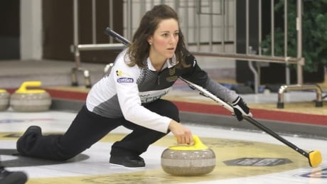 Aly Jenkins curling