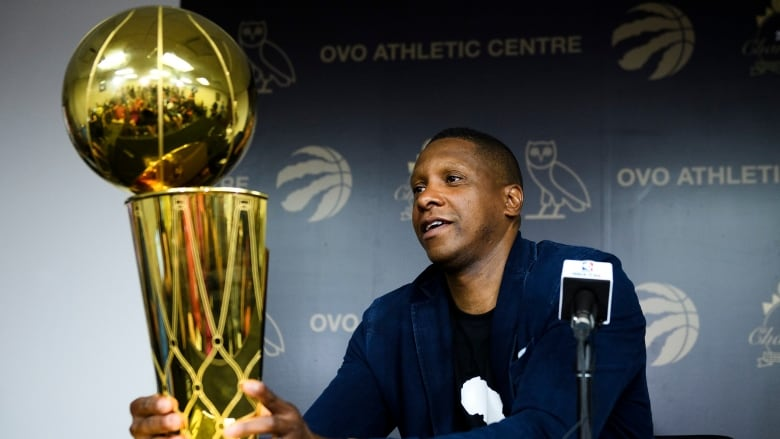 Raptors president Masai Ujiri won't face charges for NBA Finals incident