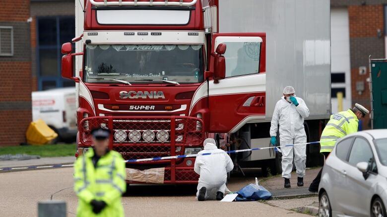 U.K. police arrest man in connection with Vietnamese truck deaths