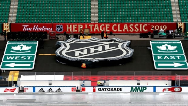 Regina's Mosaic Stadium ready for NHL Heritage Classic between Jets, Flames