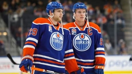 Connor McDavid and Leon Draisaitl REALLY play well together