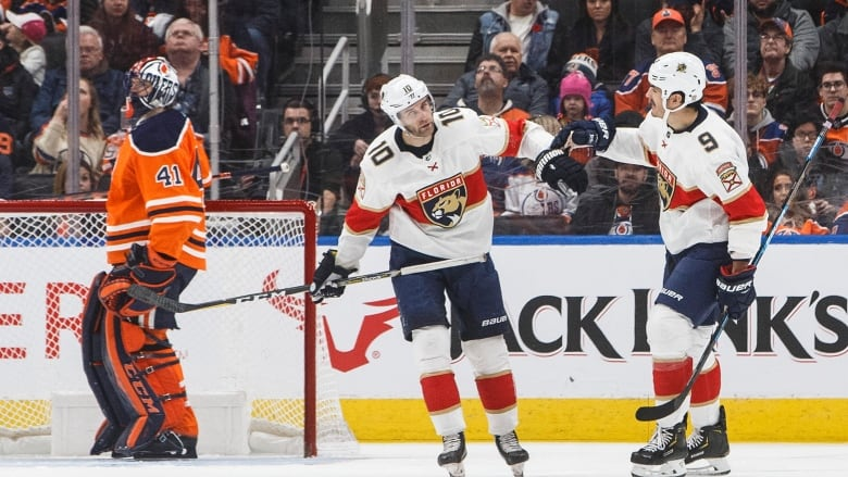 Panthers beat Oilers 6-2