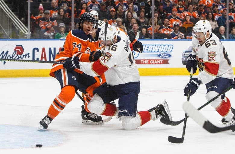 Panthers routs Oilers to extend points streak to 8 games