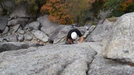 Squamish climbing