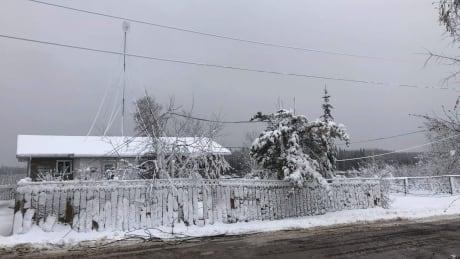 downed power line Pimicikamak Cree Nation