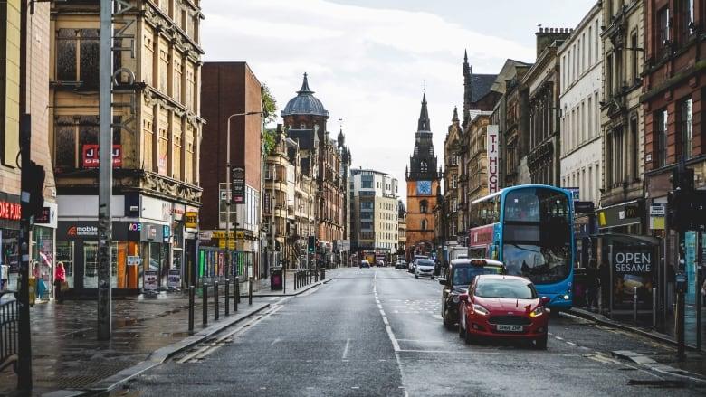 Glasgow, Escocia. Foto: CBC