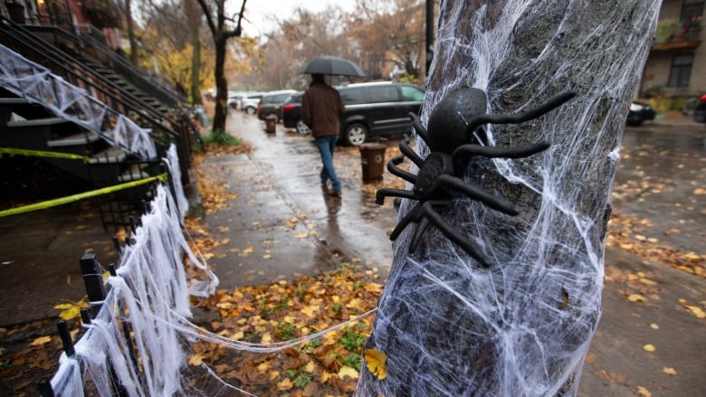 Actually, the weather forecast for Quebec on Halloween is pretty scary