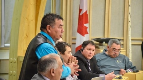 Minister of the Nunavut Housing Corporation Patterk Netser