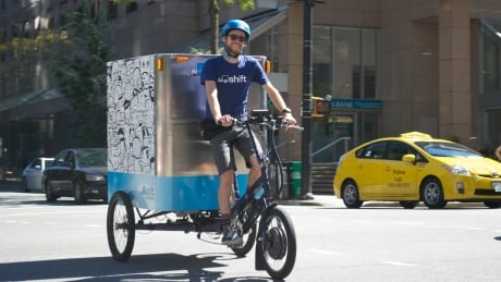 Shift Delivery cargo bikes