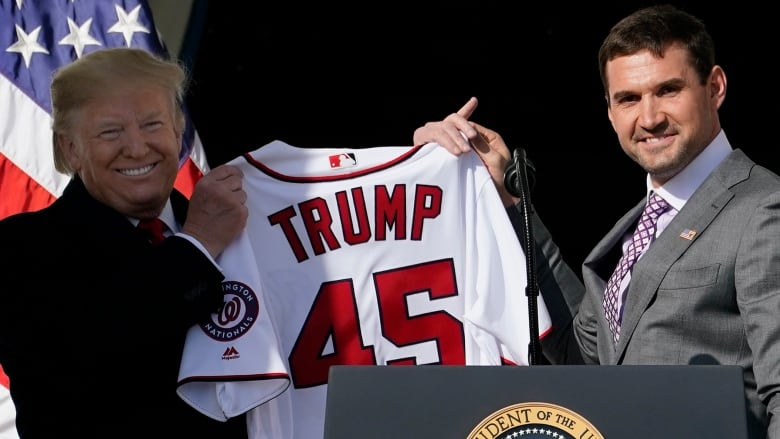 World Series champ Nationals take celebration to White House