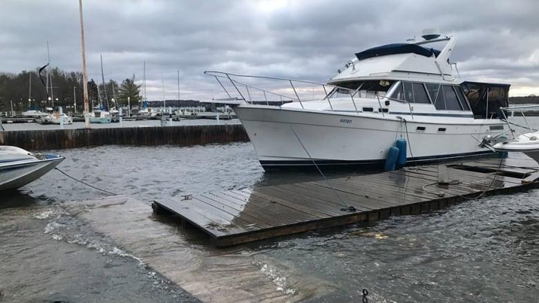 Historic Brockville marina at risk over recent flooding