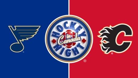 HNIC - St. Louis at Calgary - Blues at Flames